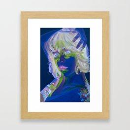 Cross Processed Framed Art Print