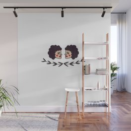 Side Eyed Wall Mural