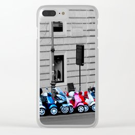 Scoot Scoot Clear iPhone Case