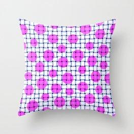 BASKETWEAVE PATTERN 5 Throw Pillow