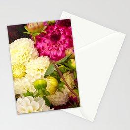 Dahlias 2 Stationery Cards