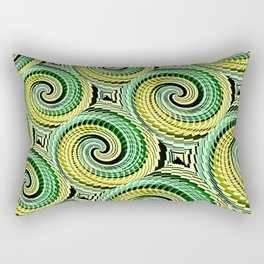 Colorful Decorative Buns #4 Rectangular Pillow