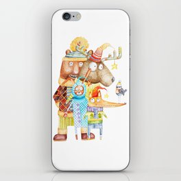 Christmas Animals iPhone Skin