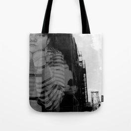 Williamsburg Bridge Analog Tote Bag