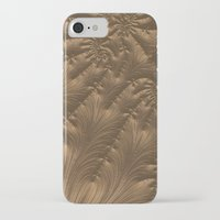 renaissance iPhone & iPod Cases featuring Renaissance Brown by Charma Rose