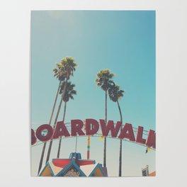 Santa Cruz boardwalk ... Poster