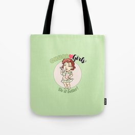 "CHUBBY GIRLS ""DIB - Eat Together"" Tote Bag"