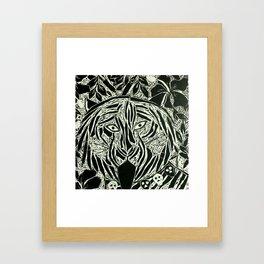 Bengal Tiger 'Bagh Kali' Framed Art Print