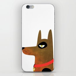 Pinscher Dog iPhone Skin