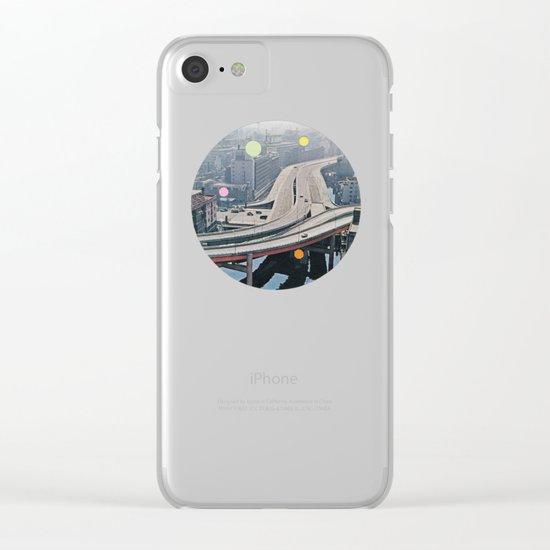 Road Trip Clear iPhone Case