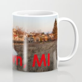 Fishtown -Leland, Michigan - Sunset Coffee Mug