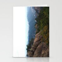 korea Stationery Cards featuring Korea - Jeju Landscape by Jason He