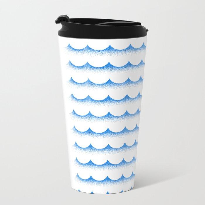 Ocean shark Metal Travel Mug
