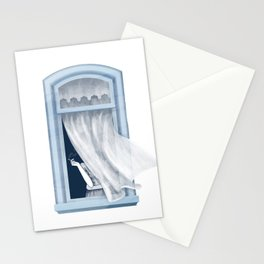 Windy day - #3 Stationery Cards