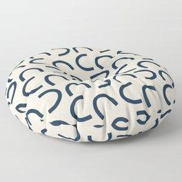 Big Squiggles Floor Pillow