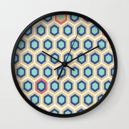 Digital Honeycomb Wall Clock