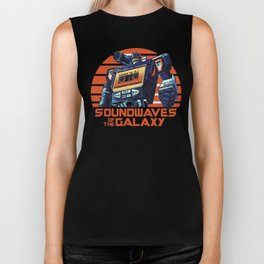 Soundwaves of the Galaxy Biker Tank