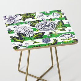 Modern Vintage Florals Side Table