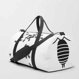 Bugs: abstract Isopod Duffle Bag
