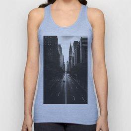 New York City (Black and White) Unisex Tank Top