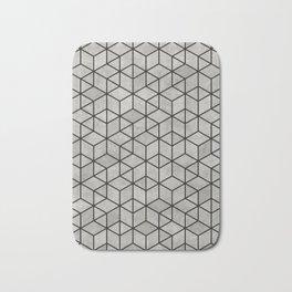 Random Concrete Cubes Bath Mat
