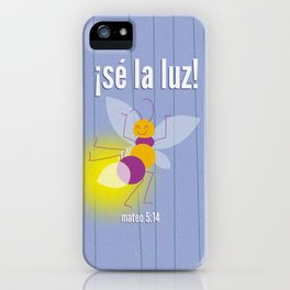 Mateo 5:14 iPhone Case