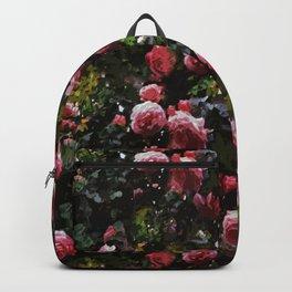 Midnight Rose Garden Backpack