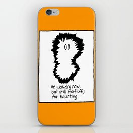 FLUFFY GHOST iPhone Skin