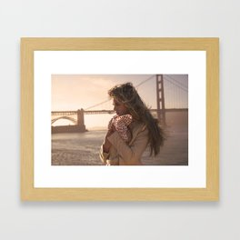 Leading Lady Framed Art Print