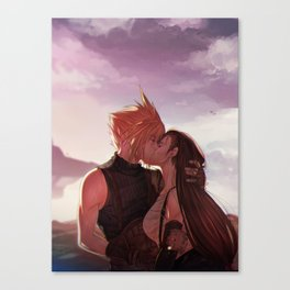 Cloud&Tifa Canvas Print