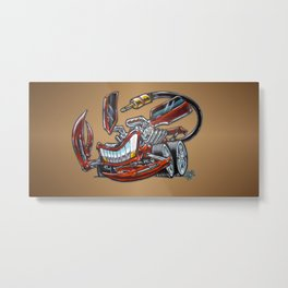 """Torqueion""- Assemblage Series 2 Metal Print"