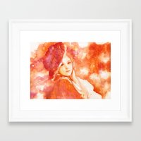 princess Framed Art Prints featuring Princess by Aurora Wienhold