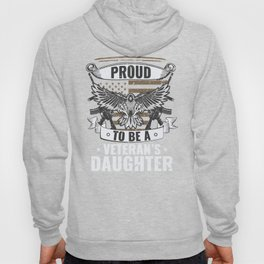 Proud To Be A Daughter Of A Veteran Hoody