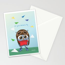 Let Your Dreams Fly Stationery Cards