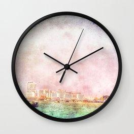 Skyline Bangkok Wall Clock