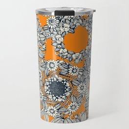 cirque fleur papaya Travel Mug