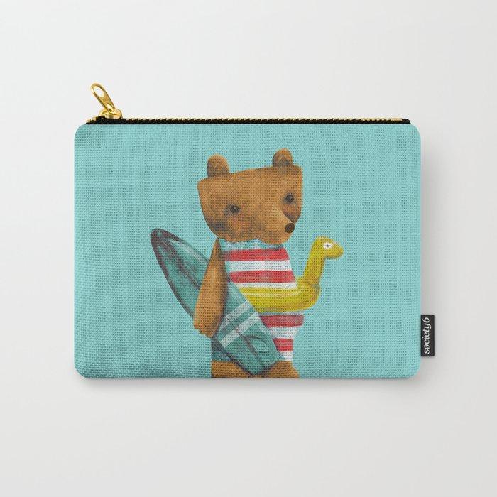 Summer Bear Carry-All Pouch