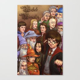 Wicked Wizards Canvas Print
