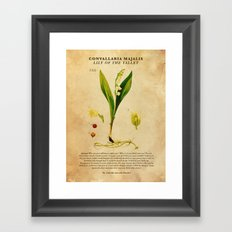 Breaking Bad - Lily of the Valley Framed Art Print