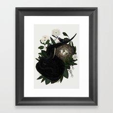 Fight or Flight Framed Art Print