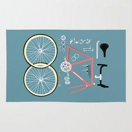 Bike Bits Rug