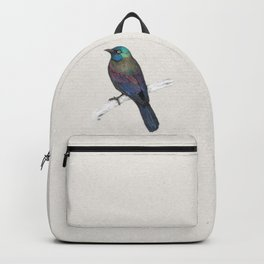 Common Grackle Backpack