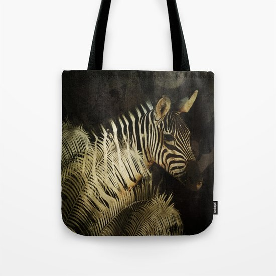 The Zebra Tote Bag
