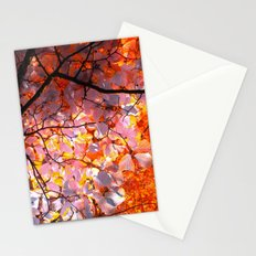 autumn tree VI Stationery Cards