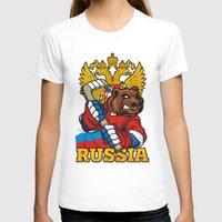 hockey T-shirts featuring HOCKEY by frail