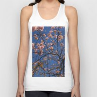 cherry blossoms Tank Tops featuring cherry blossoms... by winnie patterson