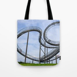living in one heart Tote Bag