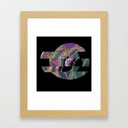 Circle of inner life Framed Art Print