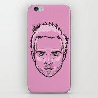 jesse pinkman iPhone & iPod Skins featuring Jesse Pinkman by Joshua Ariza