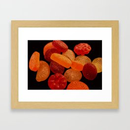 Candies-  Sweets from my childhood Framed Art Print